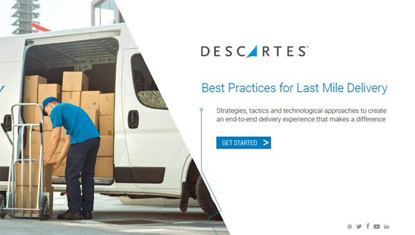 eBook- Last mile Delivery Best Practices \ home deliveries \ delivery scheduling